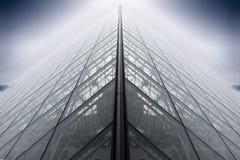 Pirâmide do Louvre Imagem de Stock Royalty Free