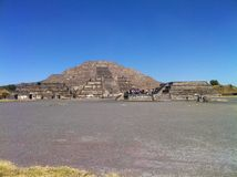 Pirâmide do Sun Teotihuacan, México (2) Imagens de Stock