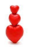 Pirâmide dos corações Imagem de Stock