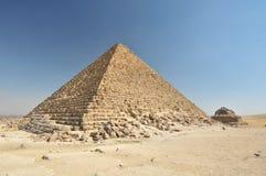 Pirâmide egípcia Fotografia de Stock