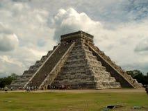 Pirâmide em Chichen Itza Imagem de Stock