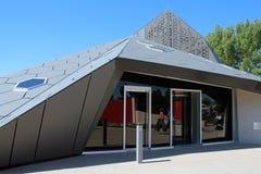 A pirâmide em Denver Botanic Gardens imagens de stock