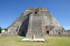 Pirâmide em Uxmal foto de stock