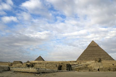 Pirâmides Fotografia de Stock Royalty Free