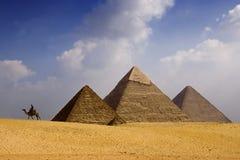 Pirâmides Foto de Stock Royalty Free