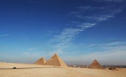 Pirâmides imagens de stock