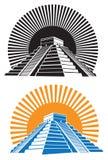 Pirâmides antigas ilustração do vetor