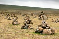 Paisagem com as pir mides das pedras isl ndia foto de for Topdeq cairo