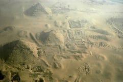 Pirâmides de Giza Foto de Stock Royalty Free
