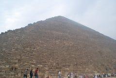 Pirâmides de Giza Imagem de Stock