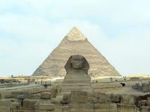 Pirâmides de Giza: O Cairo Egito foto de stock