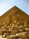Pirâmides do platô de Giza Fotografia de Stock