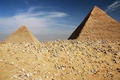 Pirâmides Egyptian Imagem de Stock