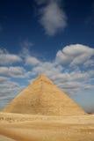 Pirâmides o Cairo Egipto de Giza Imagens de Stock