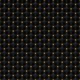 Pirâmides quadradas pretas e ouro Sars - fundo quadrado Fotografia de Stock Royalty Free