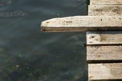 Pir över vattnet Royaltyfria Foton