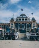 Pir av Scheveingen Haag i Nederländerna royaltyfri foto