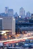 Pir 81 i Manhattan Arkivbilder