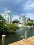 Pir i Miami Royaltyfria Bilder