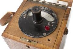 Pirômetro velho Imagens de Stock Royalty Free