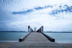Pir Nya Zeeland Arkivbilder