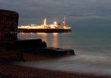 Pir på Brighton Royaltyfri Foto
