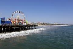 Pir Santa Monica Fotografering för Bildbyråer
