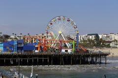 Pir Santa Monica Arkivbilder