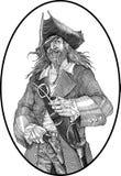 Piraat Stock Afbeelding