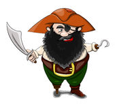piraat Royalty-vrije Stock Afbeeldingen
