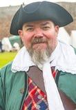Piraat bij Fort George Royalty-vrije Stock Afbeelding