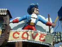Piraat bij het Strand Royalty-vrije Stock Foto