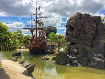 Piraat van het Caraïbische thema Royalty-vrije Stock Foto's