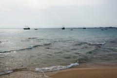 Piraatboot Royalty-vrije Stock Fotografie