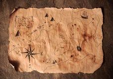 Piraatlijst, het binnenland van de kapiteinscabine royalty-vrije stock afbeeldingen