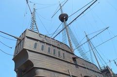 Piraatschip op vertoning Royalty-vrije Stock Fotografie