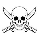 Piraatsymbool Royalty-vrije Stock Foto's