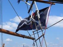 Piraatvlag Stock Afbeelding