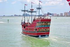 Piraci Żądają okupu Sceniczną wycieczkę turysyczną Obraz Royalty Free