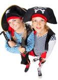 Piraci jest robią zabawie fotografia stock