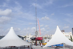 Piraci Karaibski jacht obraz royalty free