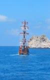 piracki statek Zdjęcie Stock