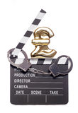 Piracy costing money in the film industry Stock Photo