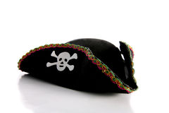 Piracy hat with skull Royalty Free Stock Images