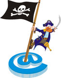 Piracy - mail Stock Photos