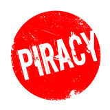Piracy rubber stamp Royalty Free Stock Photo