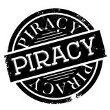 Piracy rubber stamp Royalty Free Stock Photography