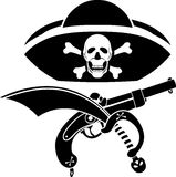 Piracy symbol Royalty Free Stock Image