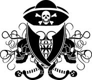 Piracy tattoo Stock Photos