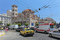 Piraeus Cathedral Royalty Free Stock Photography
